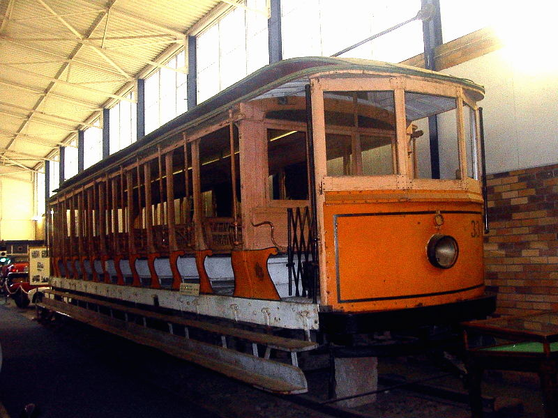 JHMT Tram Brill electric tram Kimberly 1913 to 1939James Hall Museum of Transport  Car Museums In Africa